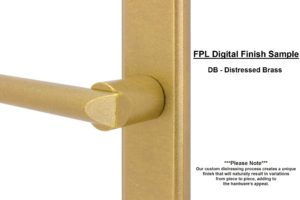 FPL Digital Finish Sample - DB Distressed Brass