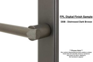FPL Digital Finish Sample - DDB Distressed Dark Bronze