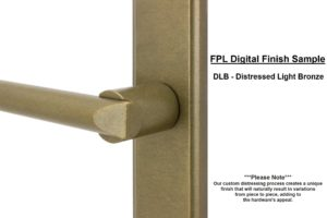 FPL Digital Finish Sample - DLB Distressed Light Bronze