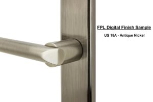 FPL Digital Finish Sample - US 15A Antique Nickel