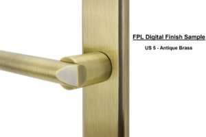 FPL Digital Finish Sample - US 5 Antique Brass