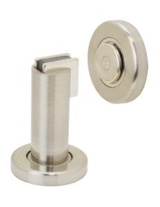 Door Stop Floor - US15 Satin Nickel