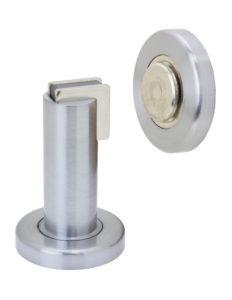 Door Stop Floor - US 26D Satin Chrome