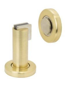 Door Stop Floor - US4 Satin Brass