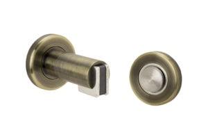 Door Stop Wall - US5 Antique Brass