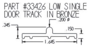 Lift & Slide Low Track Dimensions