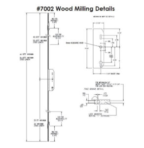 #7002 Wood Milling Specifications