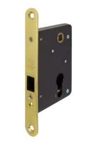 #558 Mortise Mechanism - US3 Polished Brass