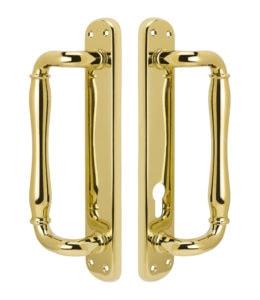 Malibu Active Handle Set - PVD Lifetime Polished Brass