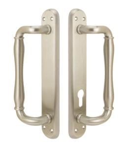 Malibu Active Handle Set - US 15 Satin Nickel