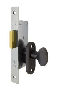 #9232 Sidelight Mortise Mechanism (Engaged) - US 10B Oil Rubbed Bronze