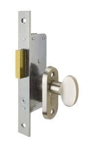 #9232 Sidelight Mortise Mechanism (Engaged) - US 15 Satin Nickel