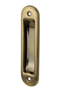 #745 Flush Pull - US 5 Antique Brass