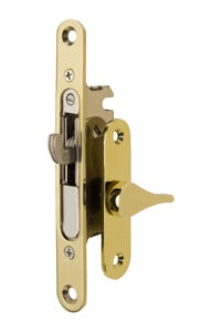 #4750 Sliding Screen Lock - PVD Lifetime Brass
