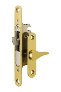 #4750 Sliding Screen Lock - US 3 Polished Brass