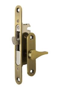 #4750 Sliding Screen Lock - US 5 Antique Brass